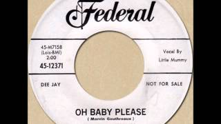 LITTLE MUMMY - OH BABY PLEASE [Federal 12371] 1960