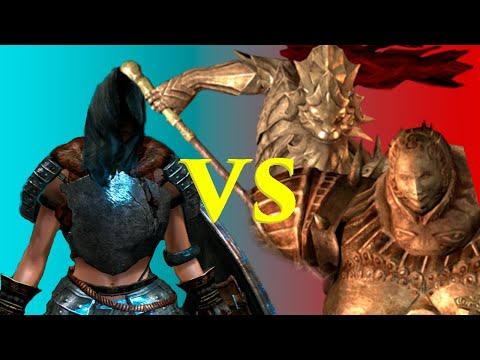 Dark Souls - Batalla contra Ornstein el Asesino de dragones y Smough el Verdugo (Jefes)