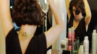 Hair tutorial - maximum volume and bouncy curls