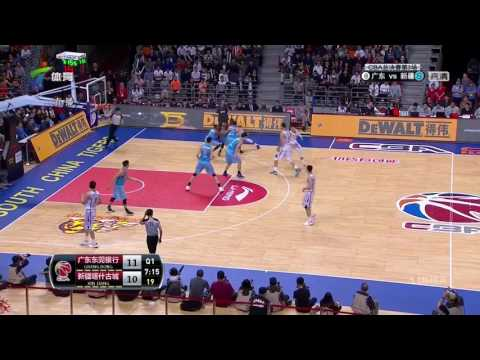 CBA Playoff Final Game 3 XingJiang VS Guangdong 4/5