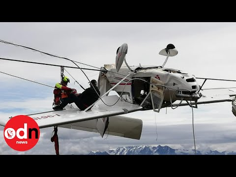 The Rick Lewis Show - Plane Left Hanging In Ski Lift