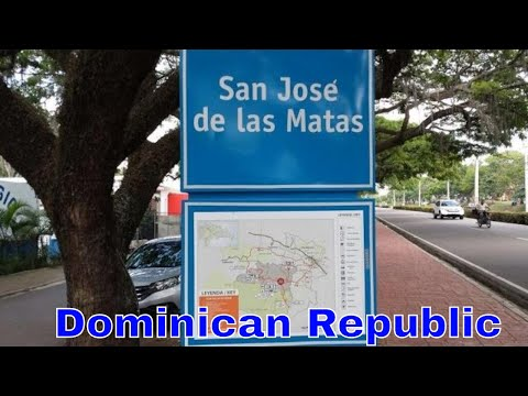 Driving Downtown - San José de las Matas - Dominican Republi