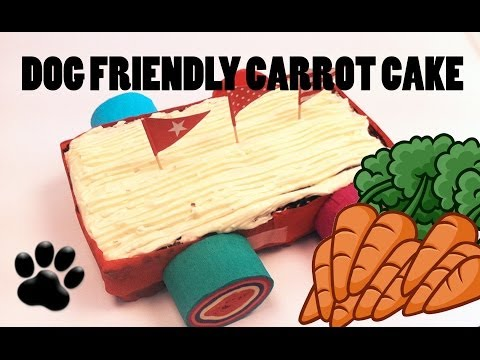 CARROT CAKE DOG LOAF - DIY Dog Food - a tutorial by Cooking For Dogs