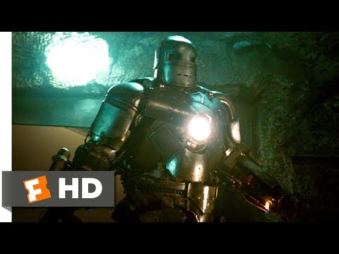 Iron Man (3/9) Movie CLIP - Cave Battle (2008) HD poster