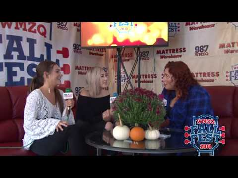 WMZQ Fall Fest - Maddie & Tae Share Upcoming Wedding Details At WMZQ Fall Fest