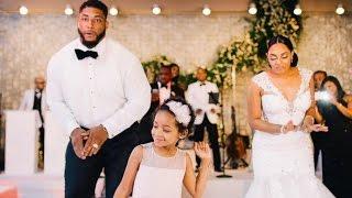 Devon Still Dances With Daughter Leah on His Wedding Day