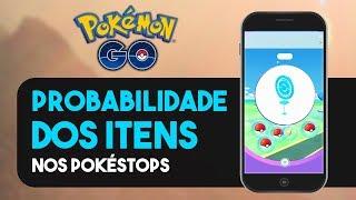 POUCAS POÇÕES E REVIVES? PROBABILIDADE DE CADA ITEM   Pokémon GO
