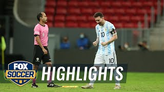 Messi, Argentina outlast Colombia in penalty kicks to advance | 2021 Copa America