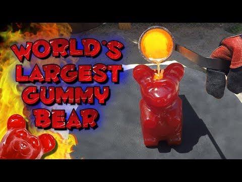 Molten Copper vs 5 Pound Gummy Bear