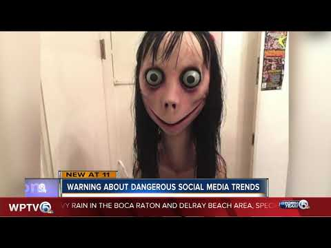 Kathi Yeager - Parents Warn About Terrifying 'Momo Challenge'
