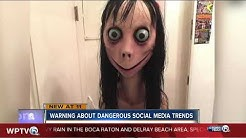 Parents warn about potentially deadly 'Momo Challenge' online