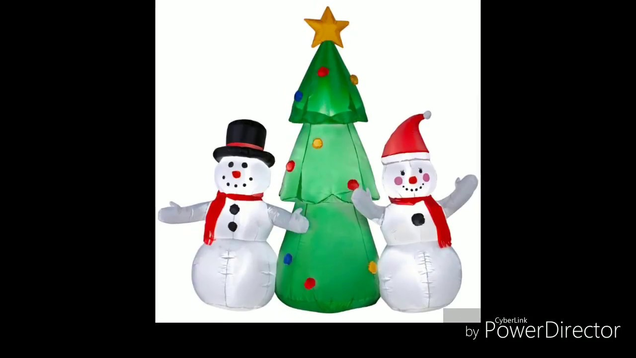 NEW CHRISTMAS INFLATABLES FOR 2018 ON HOMEDEPOT.COM - YouTube
