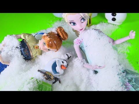 🙌 Cách Làm Tuyết Cấp Tốc Bằng Instant Snow -  Đồ Chơi Tạo Tuyết - Anna Elsa Olaf Chơi Tuyết (Bí Đỏ)