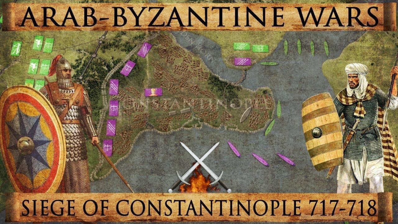 Image result for 636 – Arab–Byzantine wars: The Battle of Yarmouk between Byzantine Empire & Rashidun Caliphate begins.