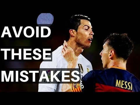 5 Mistakes Soccer Players Make With Their Attitude