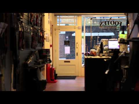 Pink Floyd drummer Nick Mason talks about Footes music shop in London