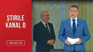 Stirile Kanal D (20.03.2019) - Liviu Dragnea, dat disparut! S-a facut nevazut! Editie COMP ...