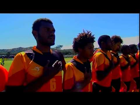 Pacific Games   2015 Football : Papua New Guinea vs Solomon Islands