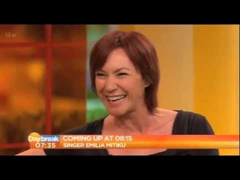 Tanya Franks talks Broadchurch on itv's Daybreak