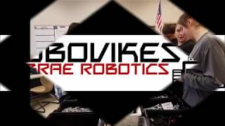 LaBrae Robotics RoboVikes 2018 High School Red Team Video - Mission To Mars NEOREP