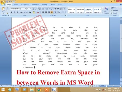 How to get rid of double space between paragraphs in word