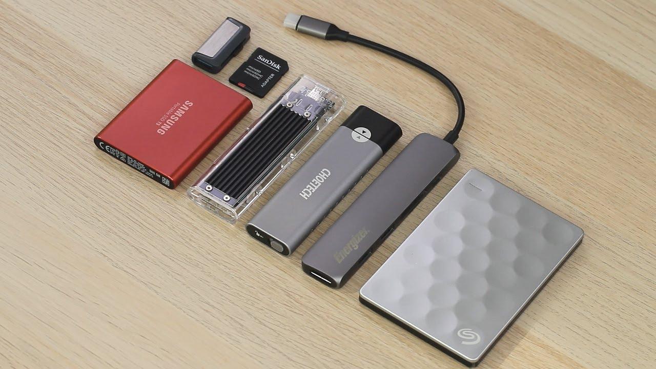 เลือก External Storage สำหรับ iPad Pro(และ iPad Air 4 ...