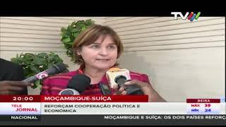 Moçambique-Suíça reforçam cooperação política e económica