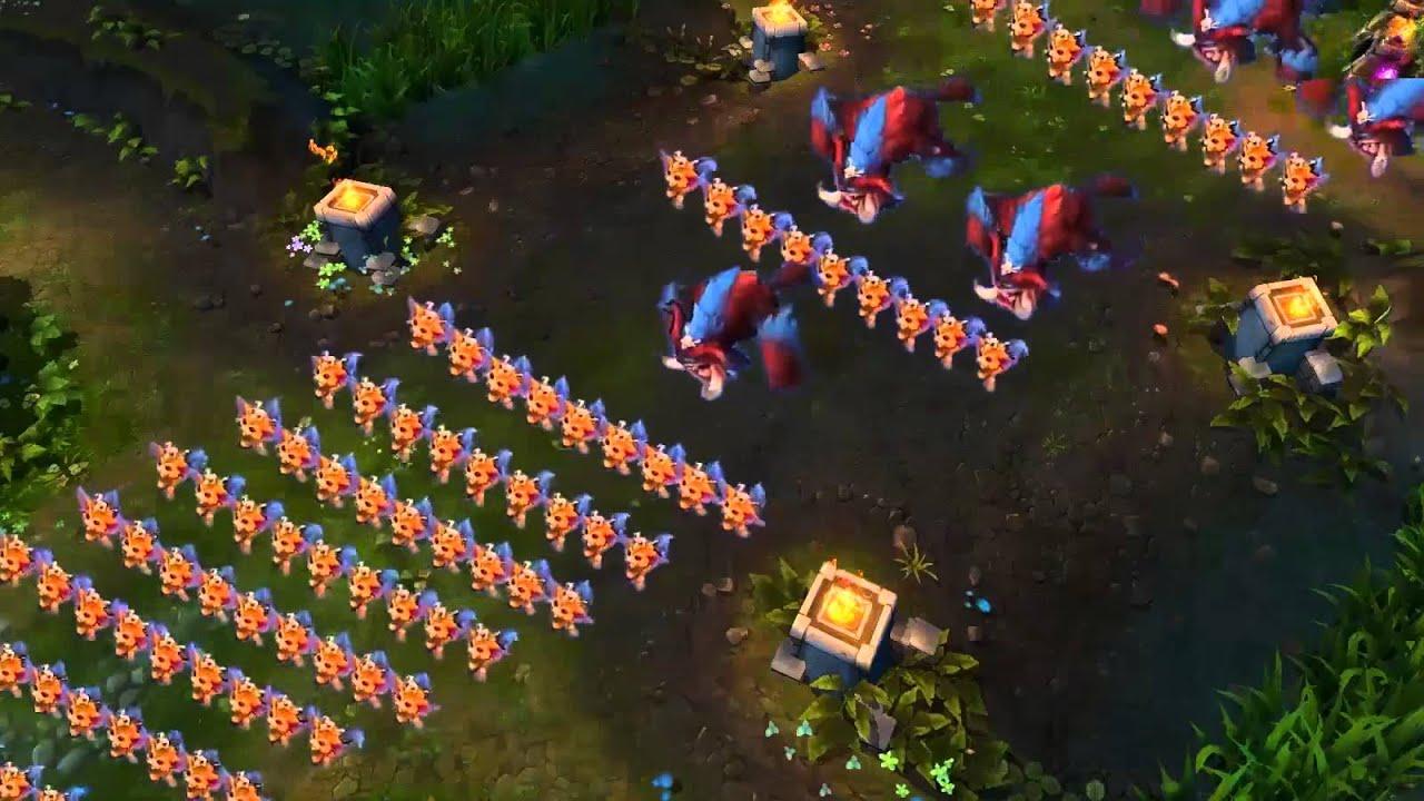 Clip LoL : Khi Gnar diễu hành