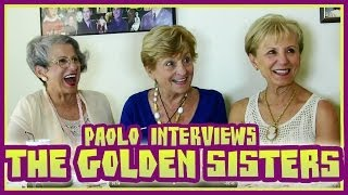 Hanging out with OWN's Golden Sisters!