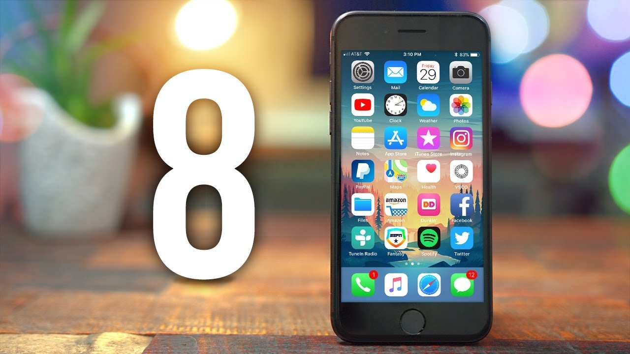iPhone 8 Review - 1 Week Later! - YouTube