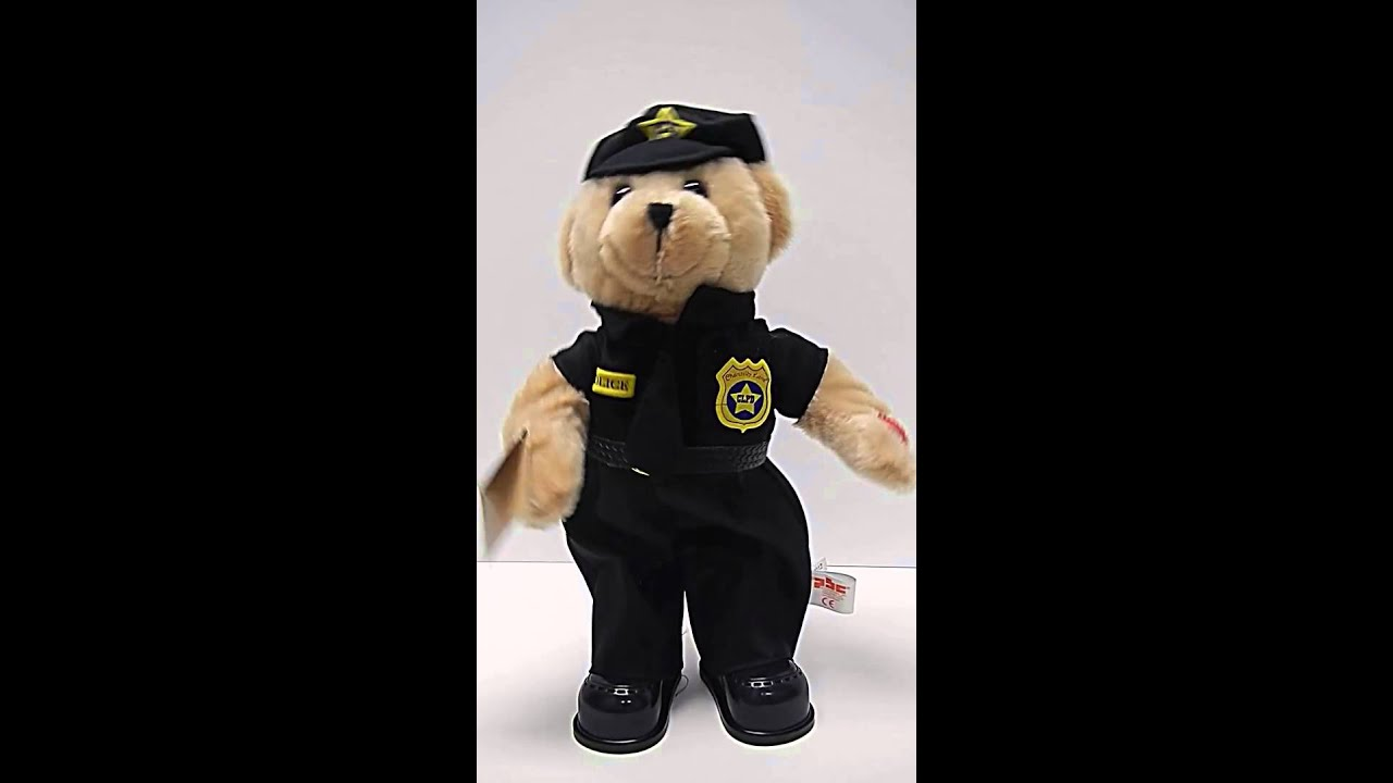 PBC singing dancing police officer bear - YouTube