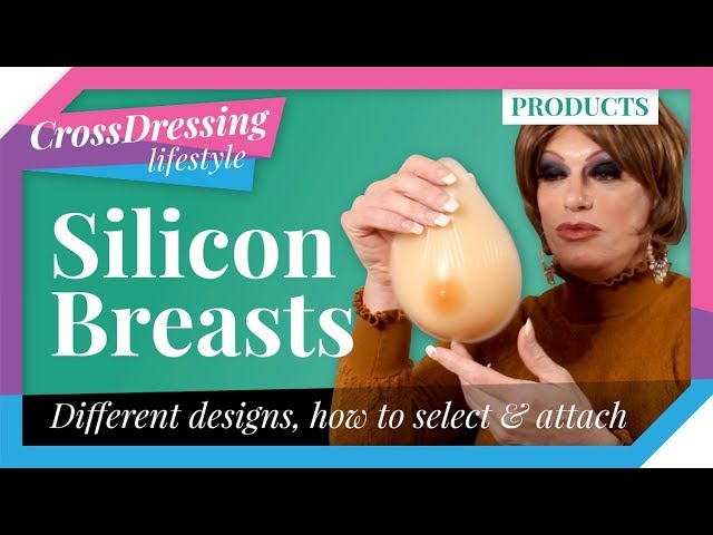 Silicone breast forms for crossdressers, transgender, drag queens | Breast form adhesives