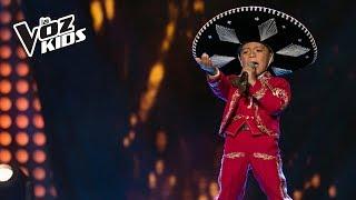 David canta Las Chamaquitas - Audiciones a ciegas | La Voz Kids Colombia 2018