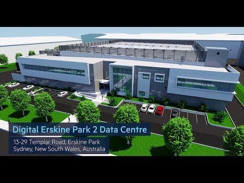 Digital Erskine Park 2 Data Center 3D Walk through - YouTube