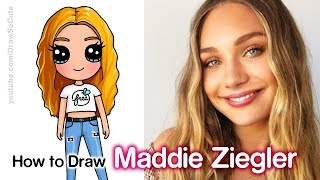 How to Draw Maddie Ziegler