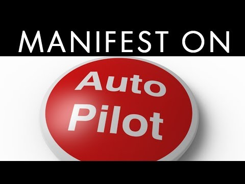 How To Put the Subconscious Mind On AUTO PILOT to ATTRACT What You Want! (Law of Attraction)