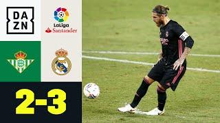 Kühler Ramos besorgt späten Real-Sieg: Real Betis - Real Madrid 2:3 | LaLiga | DAZN Highlights