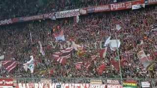 FC Bayern München - Borussia Dortmund 4.10.2015 Support der Südkurve