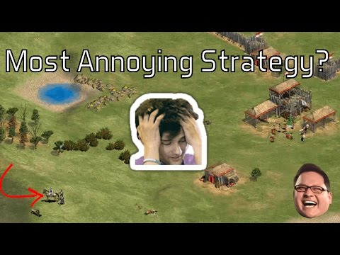 AoE2 - The Most Annoying Strategy?