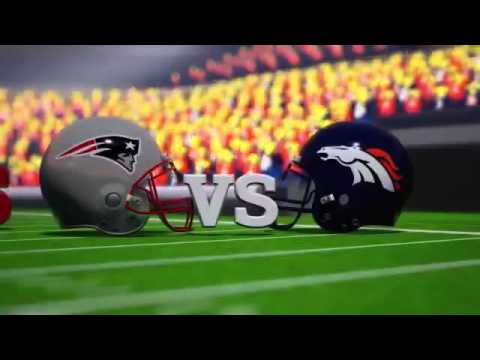 Lego Patriots vs Broncos on the Road to Super Bowl - YouTube