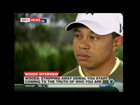"Tiger Woods first interview after sex scandal,  Tiger says ""It was whore-ific"""