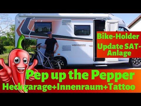 wohnmobil-pep-up-😃-heckgarage,-bike-holder,-update-sat-anlage,-innenraum-vlog#26