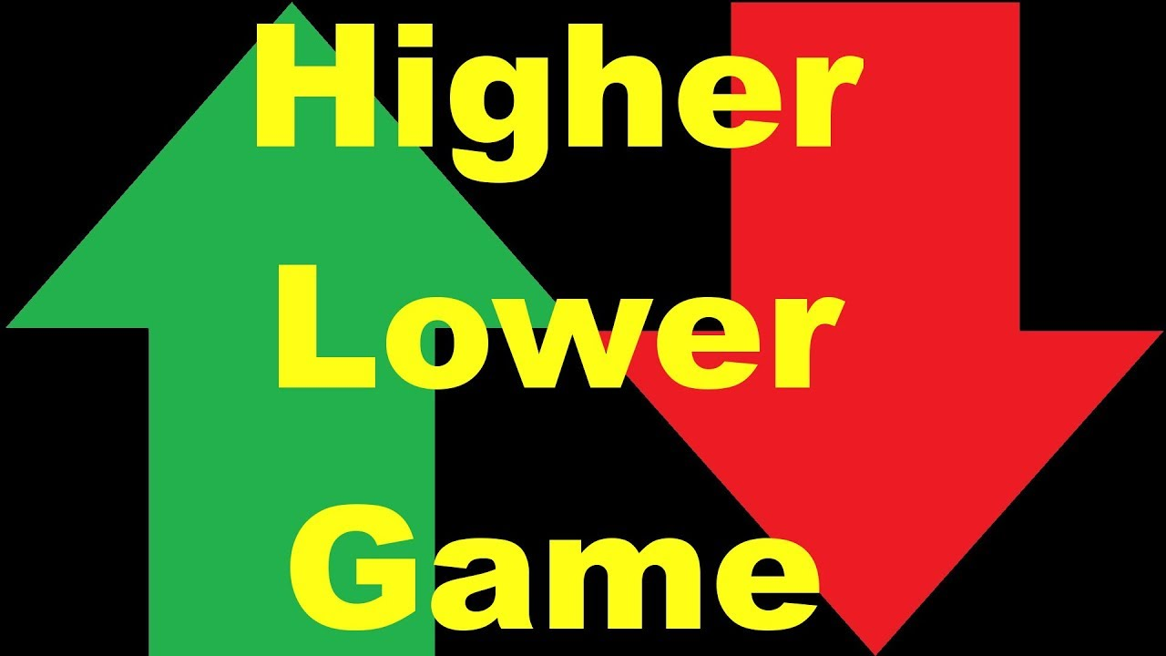 Higher Lower Game Deutsch