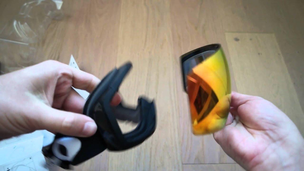 oakley flight deck prizm changing lenses