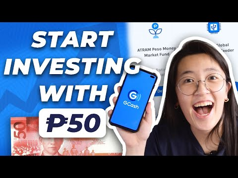📈 GINVEST 2021: Start investing with only Php50 in GCash | Investing for Students and Beginners 💙