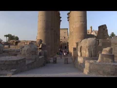 Le temple de Louxor ,Egypte ( FullHD)