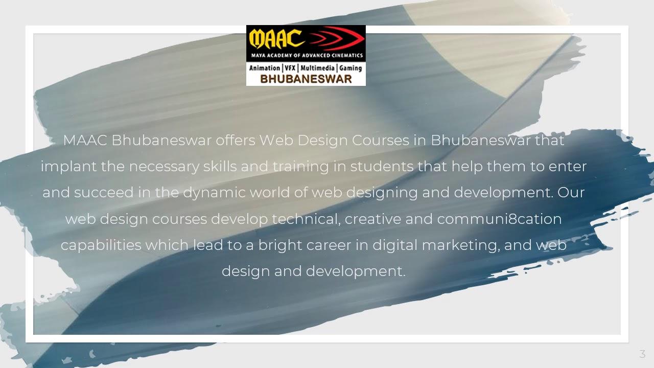 Web Design Courses In Bhubaneswar Maac Bhubaneswar Youtube