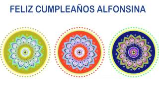 Alfonsina   Indian Designs - Happy Birthday