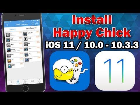 How to Install Happy Chick Multi-Emulator on iOS 11.0 - 11.2.5 (No Jailbreak / No Computer)