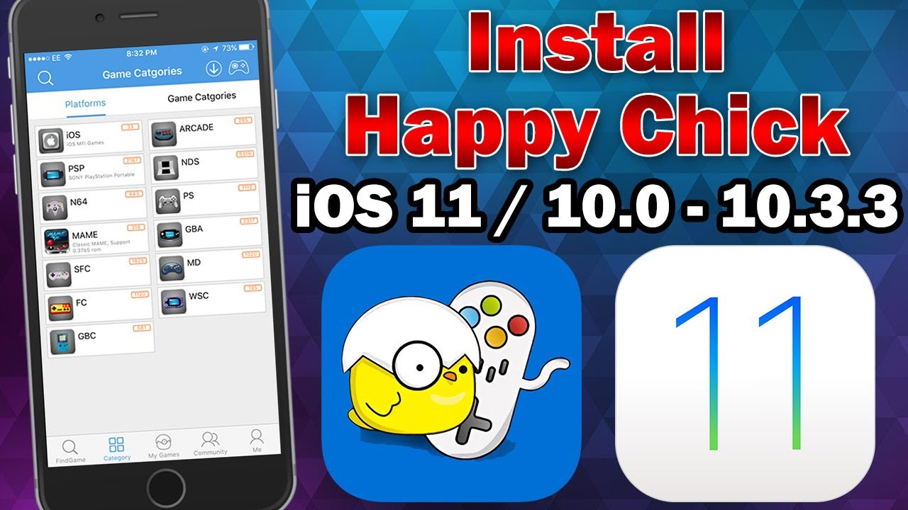 How To Install Happy Chick Multi Emulator on iOS 11 0 – 11 2 5 (No